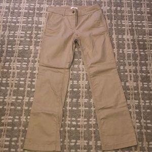 Loft Marisa Chinos Khaki Pants